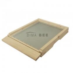 Дъно с поликарбонатна табла - 10 рамки