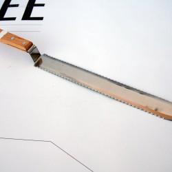 Нож - двустранно назъбен