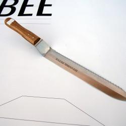 Нож - едностранно назъбен
